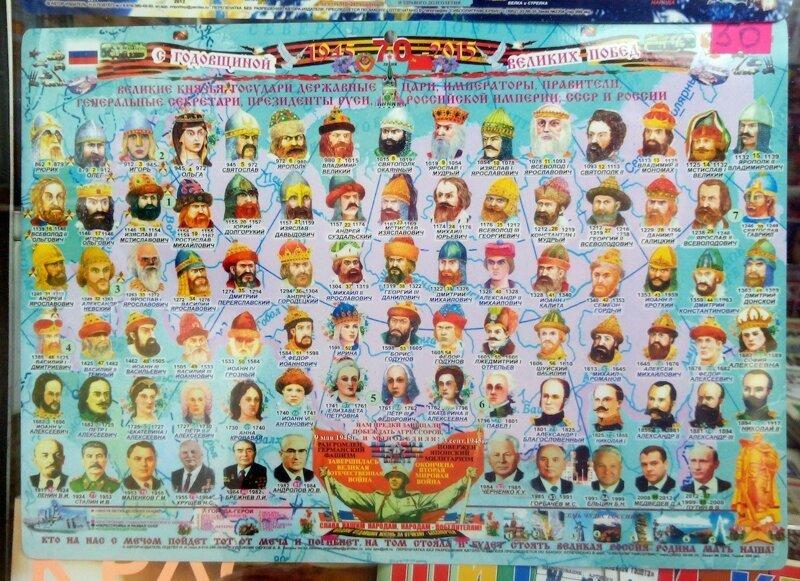 все правители россии роли судей искателей