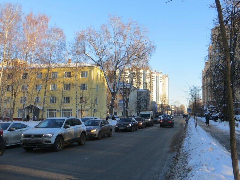Королёв. Улица Циолковского