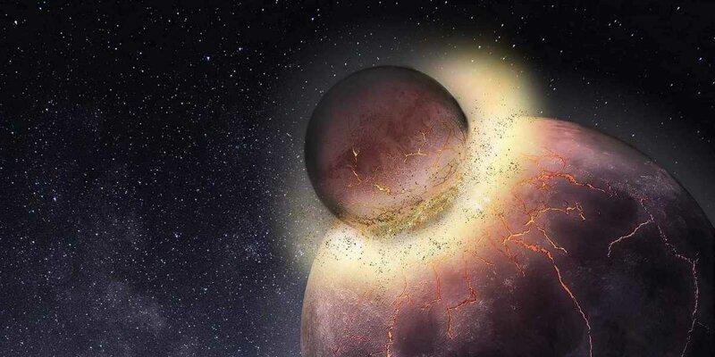 Возможно, жизнь на Земле существует, потому что она поглотила другую планету