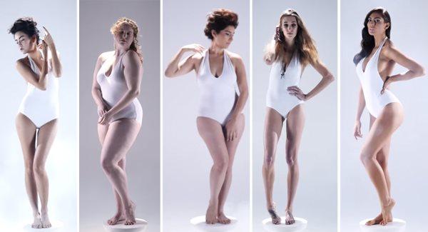 Какую женскую фигуру можно считать идеальной?