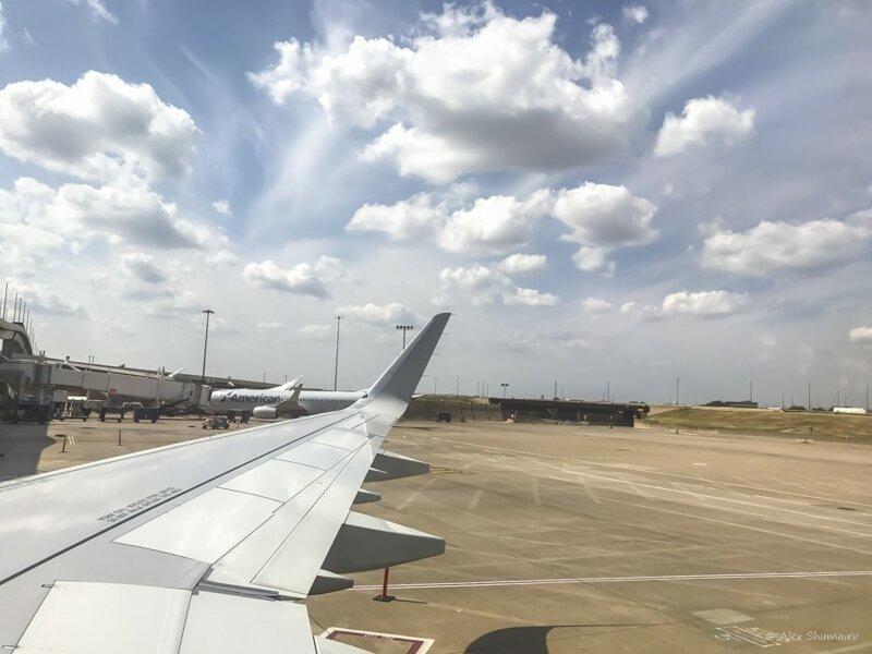 Невада и Калифорния с борта самолета