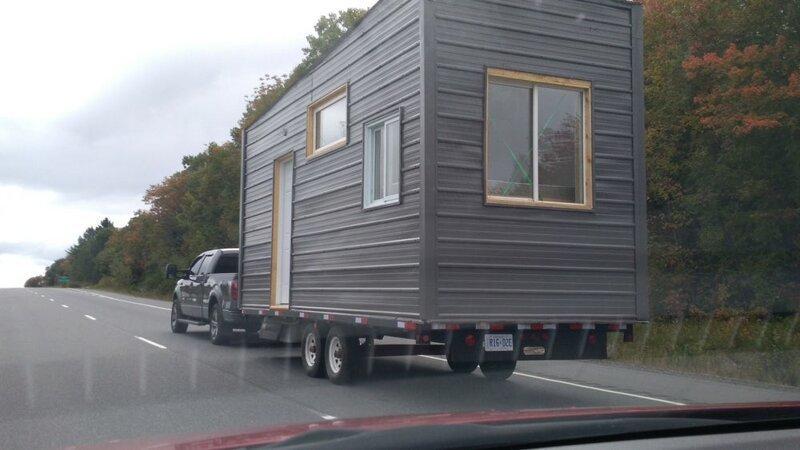Размеры жилища легко позволяют перевозить его с места на место без специальных разрешений до и после, жилье, идеи, инженер, ремонт, своими руками, строительство, фото