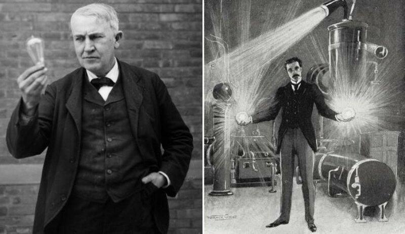 Война токов: противостояние Томаса Эдисона и Николы Теслы