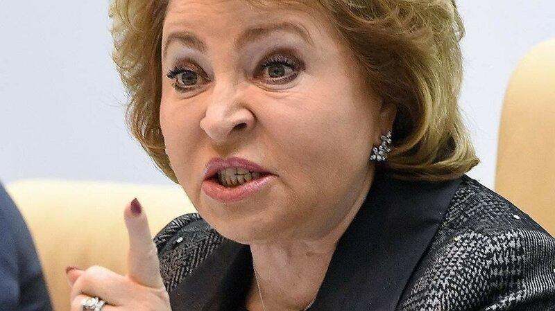Матвиенко призвала штрафовать россиян, не уважающих власть