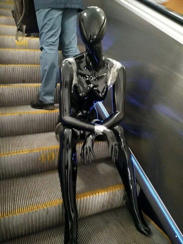 Чудики в метро