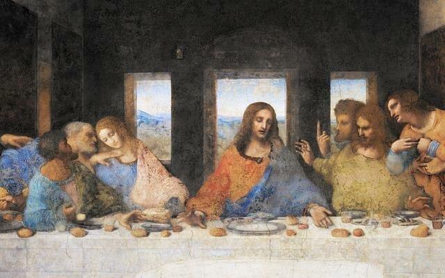 На картине Леонардо да Винчи «Тайная вечеря» искусствовед обнаружила дату  конца света искусство ff6df6c55926b