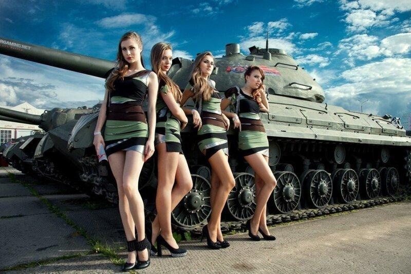 Картинки танк с девушками