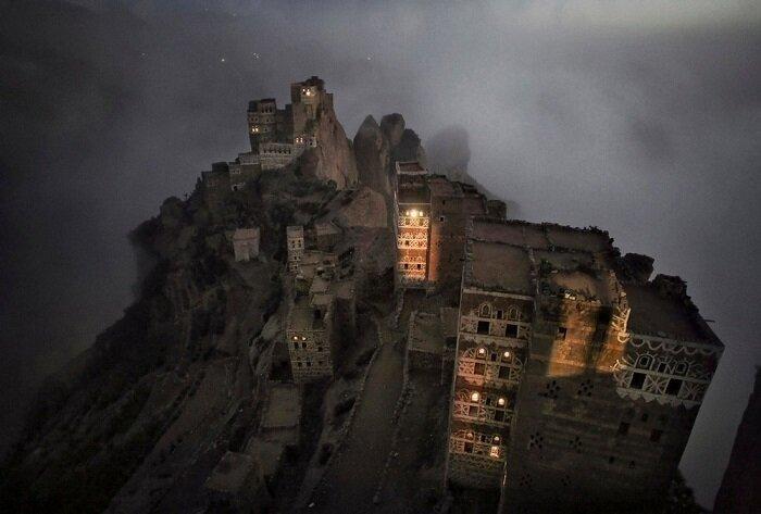 5. Утренний туман, Шугруф (Йемен) конкурс, фото, это интересно