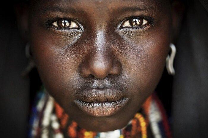 6. Лицо племени (Эфиопия) конкурс, фото, это интересно