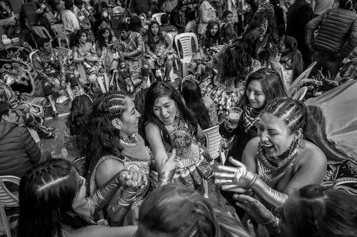 7. Компания танцоров, Пуно (Перу) конкурс, фото, это интересно