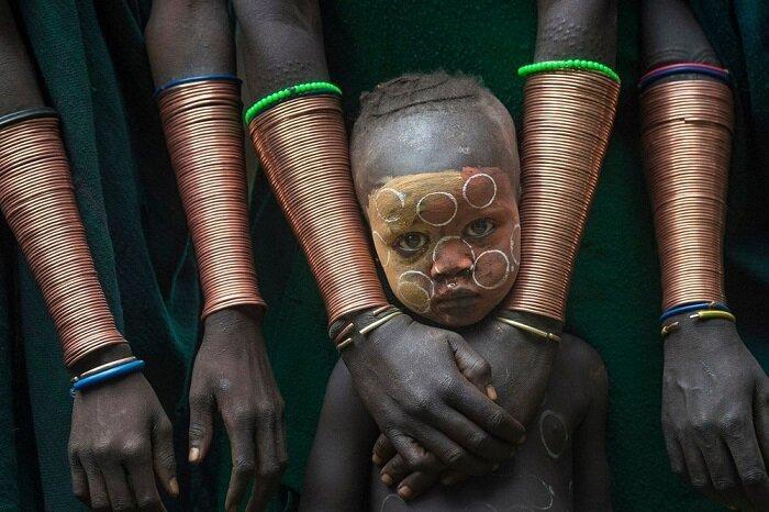 12. Медные браслеты, долина Омо (Эфиопия) конкурс, фото, это интересно