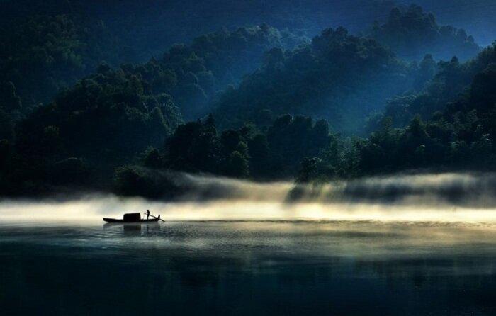 15. Утро на озере (Китай) конкурс, фото, это интересно