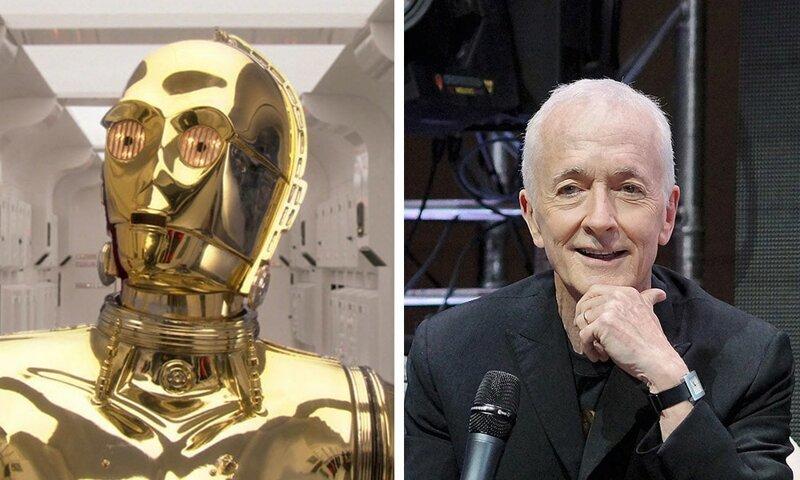 10. Энтони Дэниелс (C-3PO из «Звёздных войн») актер, визажист, грим, кино, маска, роль, фильм