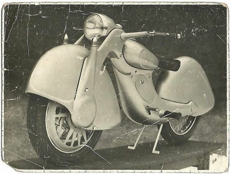 Уникальный переднеприводный мотоцикл «Голубь мира» авто, автоистория, мото, мотоцикл, олдтаймер, переднеприводный мотоцикл, ретро техника