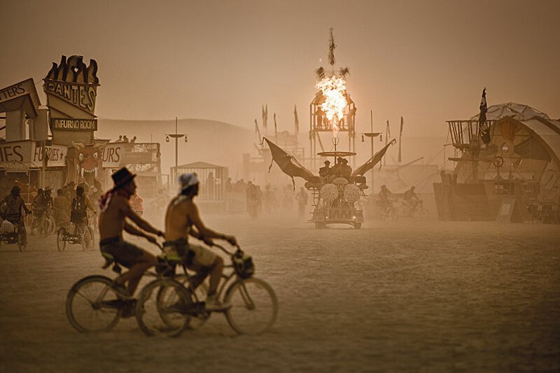 """Burning Man"", Невада, США"