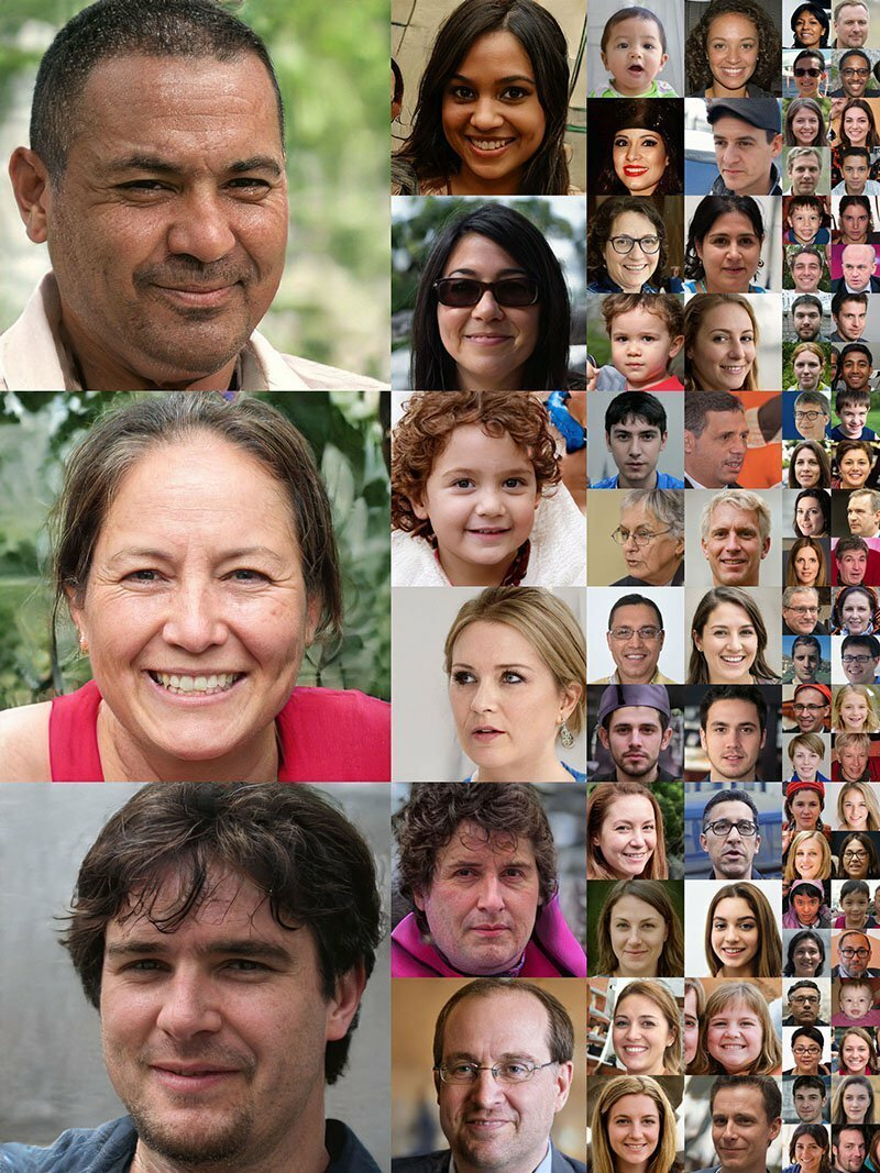 Эти портреты были сделаны искусственным интеллектом: никто из этих людей не существует