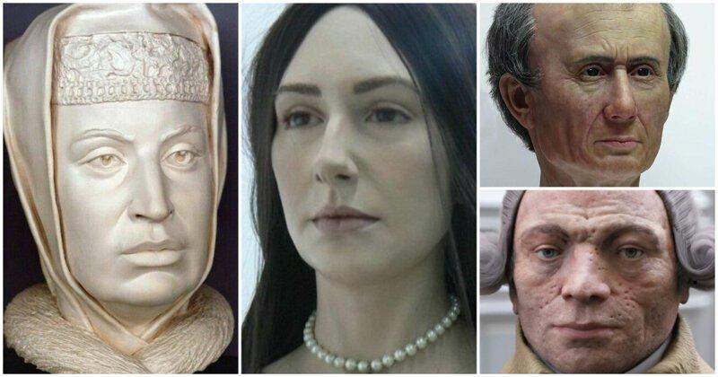 Вот как они выглядели на самом деле: реконструкция властителей из прошлого