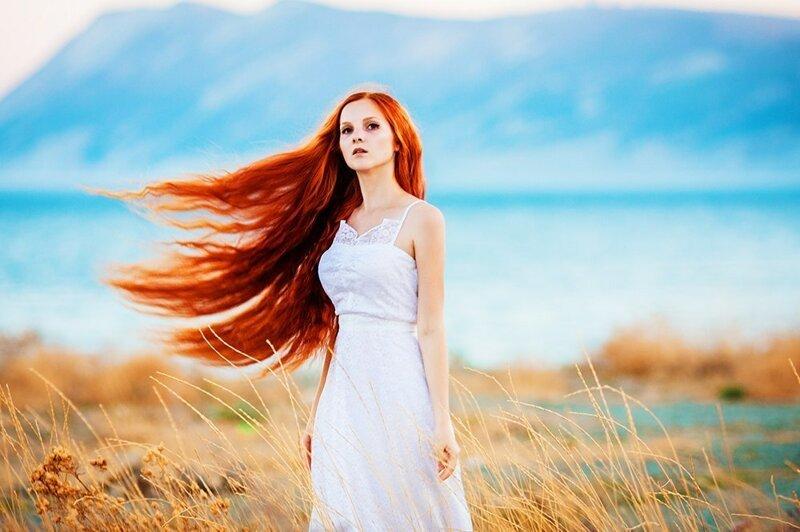 красивые бледно рыжие девушки профессиональные фотки жутковатый