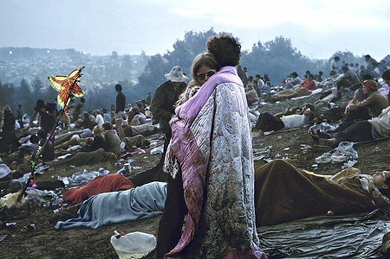 Ненастоящие хиппи: История пары, случайно ставшей символом поколения в мире, вудсток, история, люди, поколение, символ, фотограф, хиппи