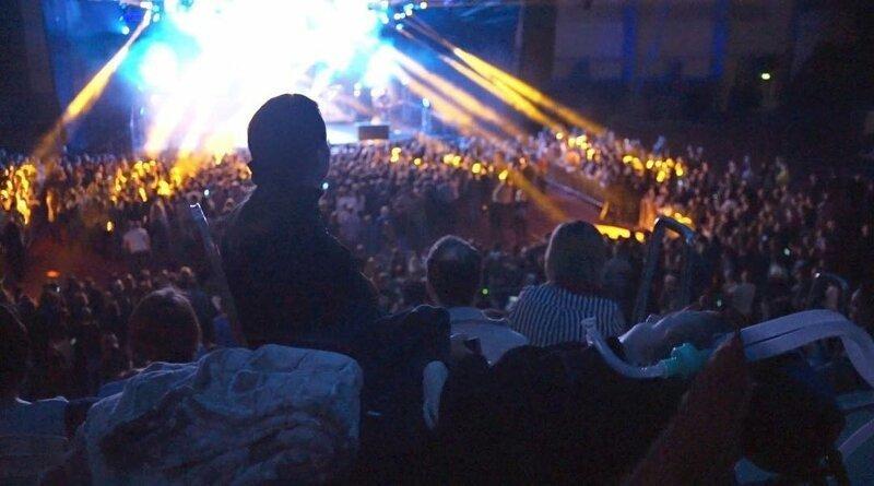 В Перми неизлечимо больной с аппаратом искусственной вентиляции легких побывал на рок-концерте