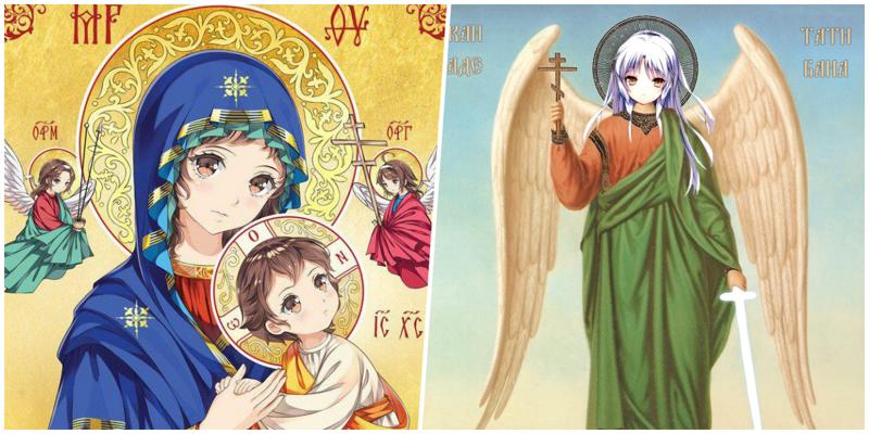 Кавай воскресе: РПЦ заинтересовались православными аниме-иконами