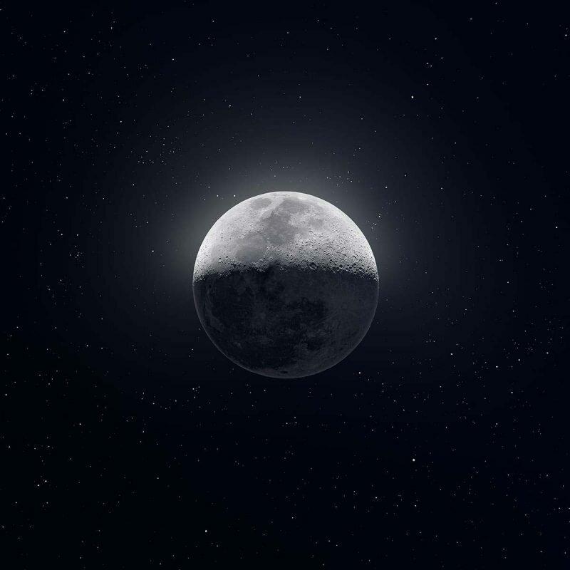 Американец сделал 50 тысяч снимков Луны и собрал из них одно фото Астрофотограф, в мире, красота, луна, фото, фотограф