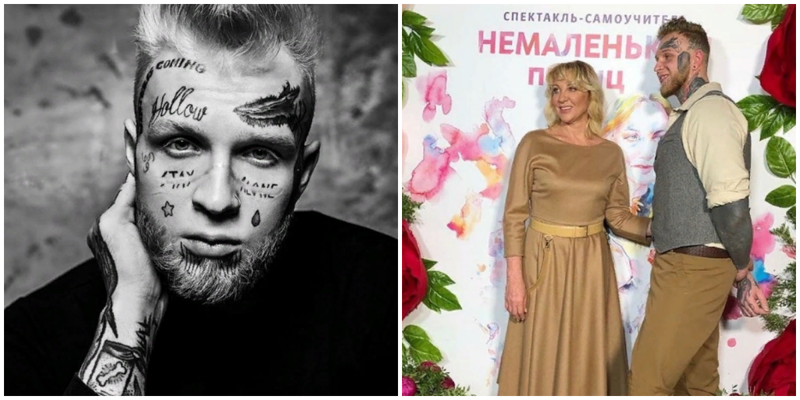 Сын Елены Яковлевой решил избавиться от своих мрачных татуировок и перестать быть фриком
