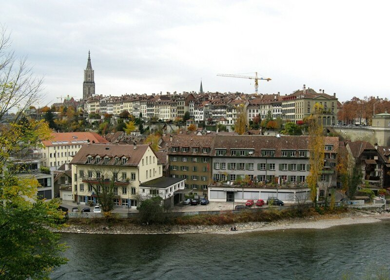 Берн - миниатюрная столица Швейцарии