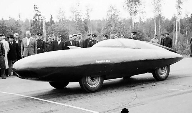 """6. ГАЗ-ТР """"Стрела"""" (1954) Автопром СССР, СССР, автопром, гоночные автомобили, история, концепт-кары, отечественный автопром, познавательно"""