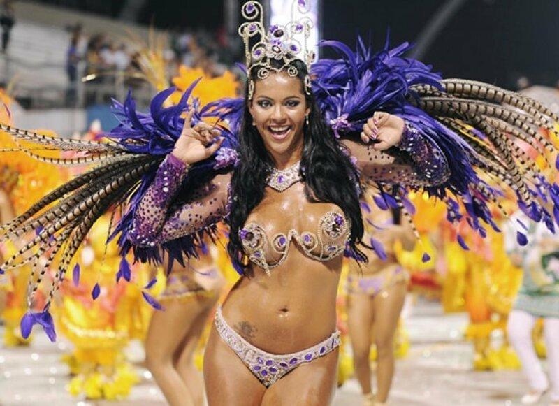 Секс на пляже во время карнавала в рио де жанейро