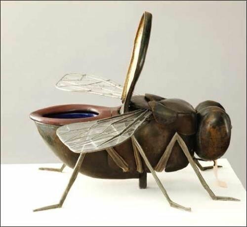 Немного сантехники Фабрика идей, животные, звери, интересно, красиво, креативно, мебель, необычно