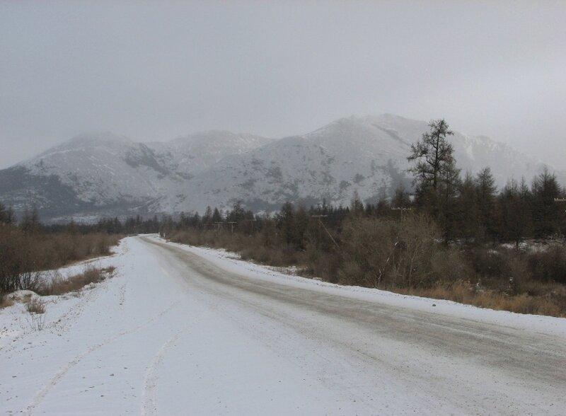 Перевал Яблоневый - пос. Атка - перевал Гербинский (140. 340 км по трассе к северу от Магадана)