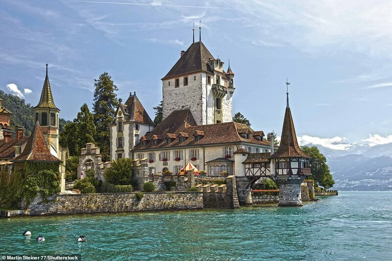 8. Замок Оберхофен, Швейцария