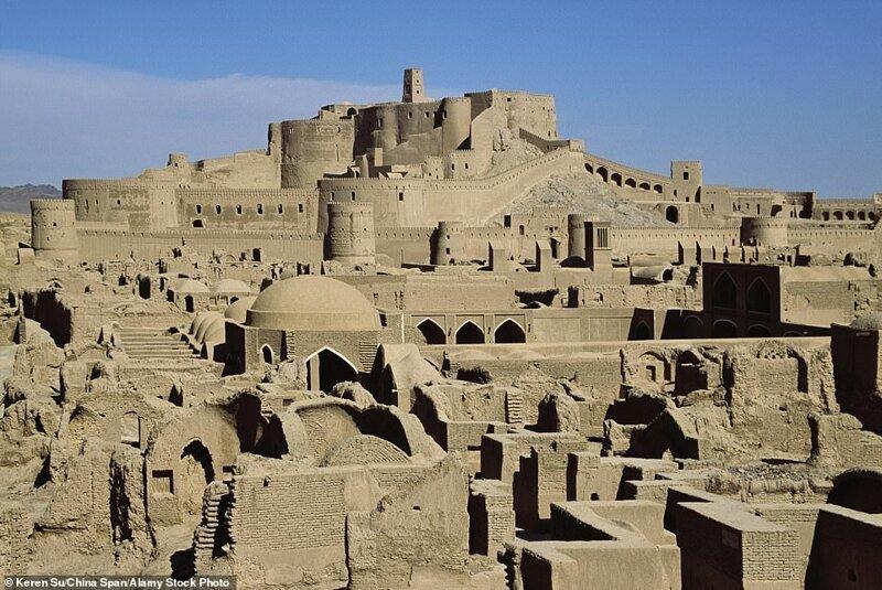 1. Арг-е Бам (Крепость Бам), Иран