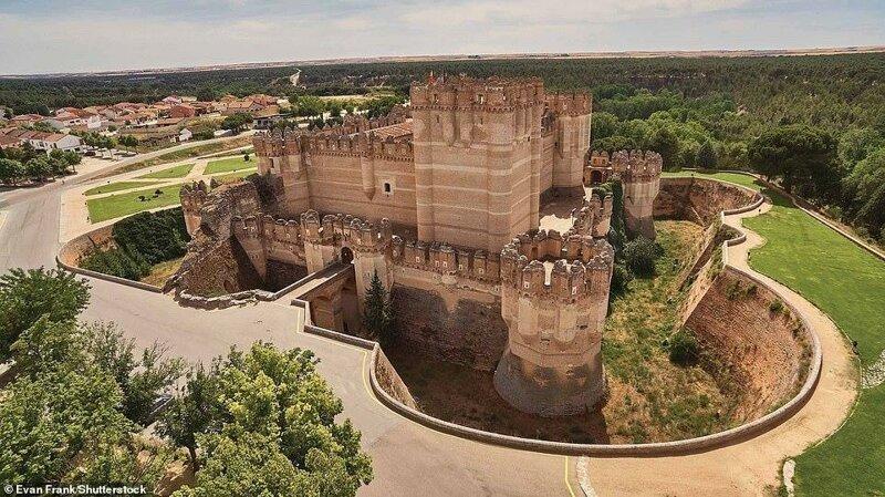 16. Замок Кока, провинция Сеговия, Испания