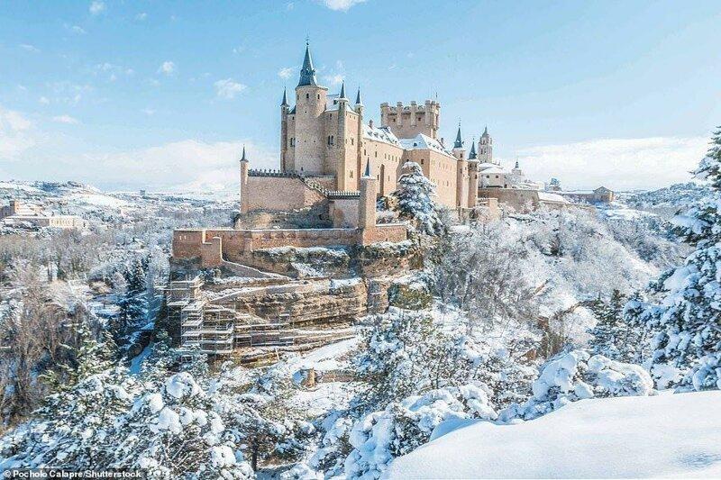 3. Алькасар в Сеговии, провинция Кастилия и Леон, Испания