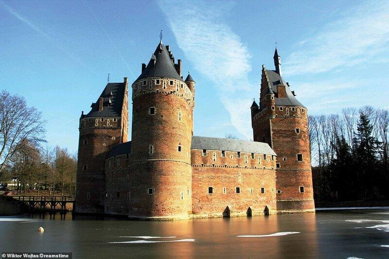 13. Замок Бирсель, Бельгия