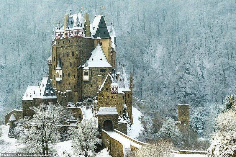 9. Замок Эльц, Германия