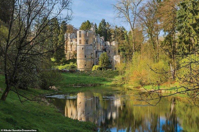 18. Замок Бофорт, Люксембург