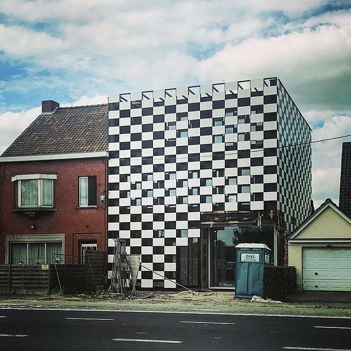 Как разозлить соседа — 999 уровень Ханнес Куденис, архитектор, дизайн, дом, креатив, недвижимость, фантазия, юмор