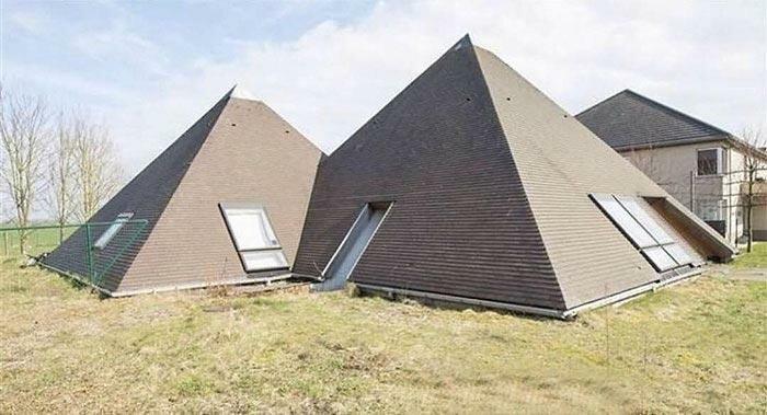 Специальное предложение: купи два дома и ничего не получи в подарок Ханнес Куденис, архитектор, дизайн, дом, креатив, недвижимость, фантазия, юмор