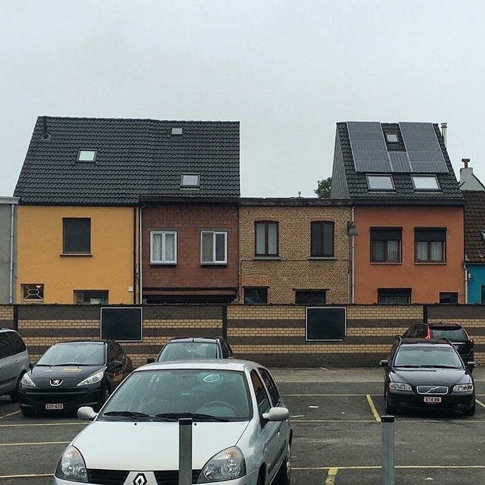 Когда ты не знал, что должен был принести свою собственную крышу Ханнес Куденис, архитектор, дизайн, дом, креатив, недвижимость, фантазия, юмор