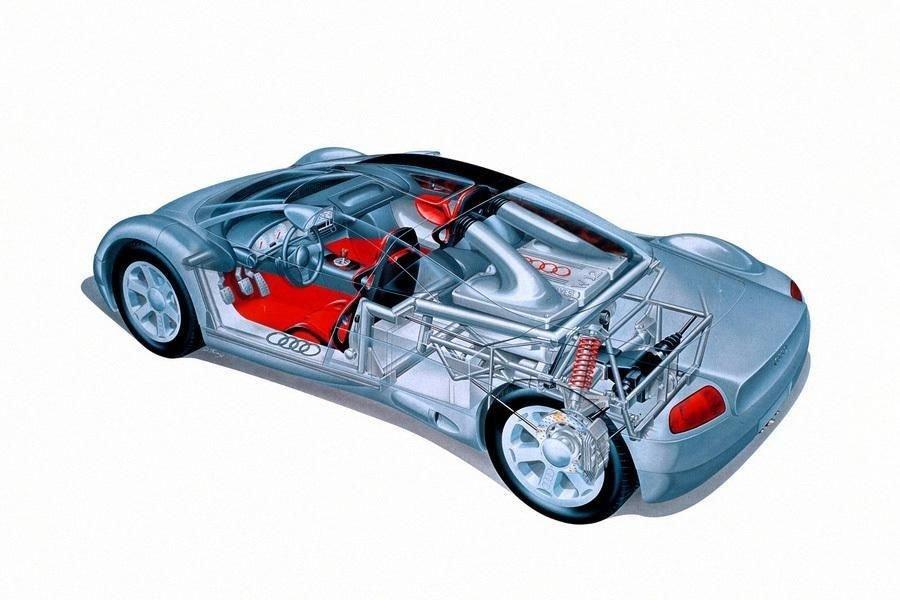 Audi Avus — суперкар из Ингольштадта с деревянным мотором