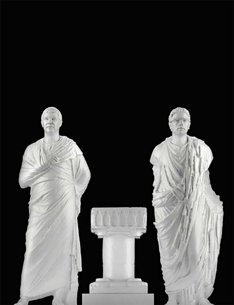 Дизайнер из Нью-Йорка создал современных богов