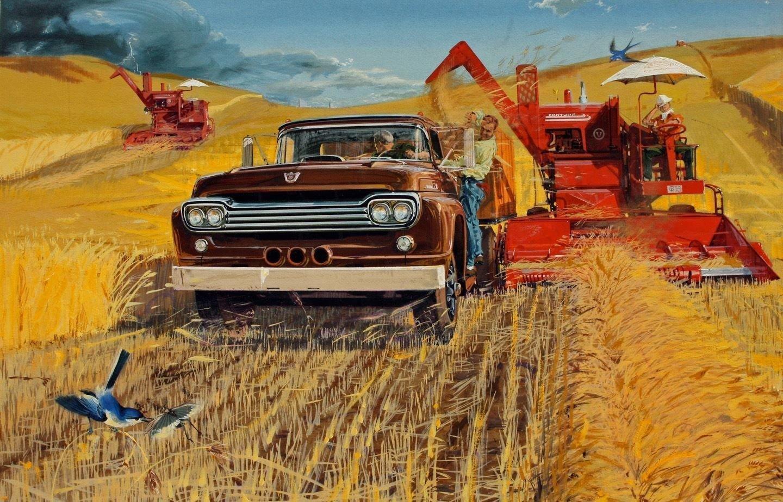 Джон Киллмастер — живой классик американской автомобильной иллюстрации