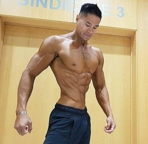 Доан любит соревноваться, но признается, что подготовка и сами конкурсы выматывают его история, культуризм, мужчина, мускулатура, спорт, тело, фото
