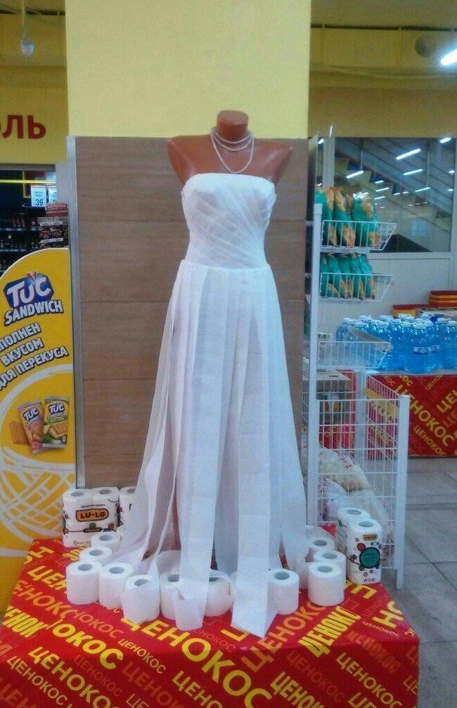 Бюджетный вариант свадебного платья бережливость, подборка, прикол, экономия, юмор