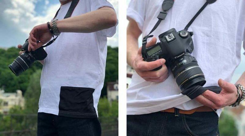 Созданы футболки для протирания линз объективов