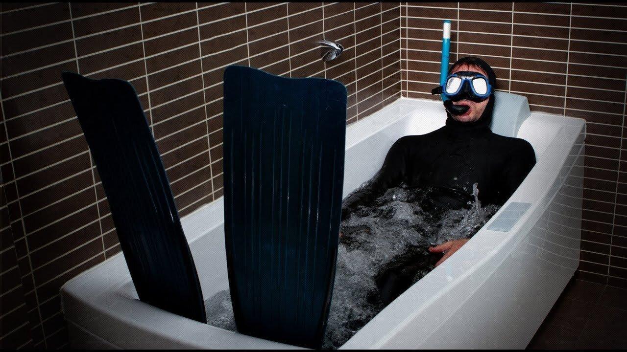 Днем, я в ванной картинки смешные