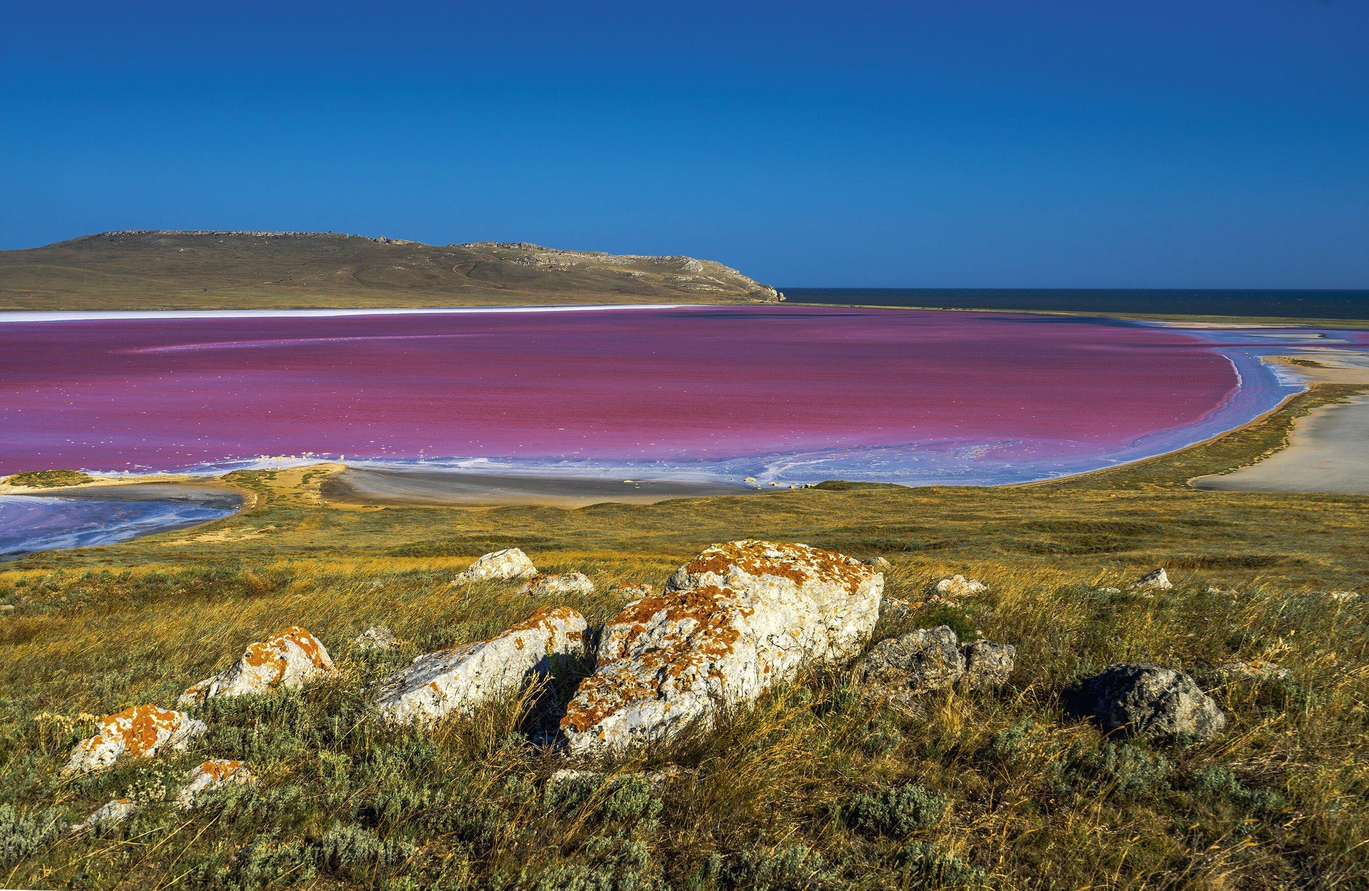 Озеро красное крым фото